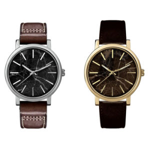 New Style Marble Dial Fashion Stainless Steel Quartz Watch Bg-086 pictures & photos