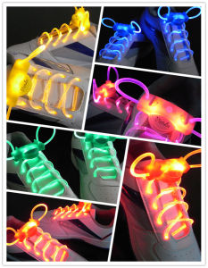 China Supplier LED Party Favor Low Cost Waterproof LED Shoestring pictures & photos