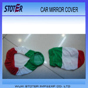 Cheap Customized Logo Car Rear View Mirror Cover Flag pictures & photos