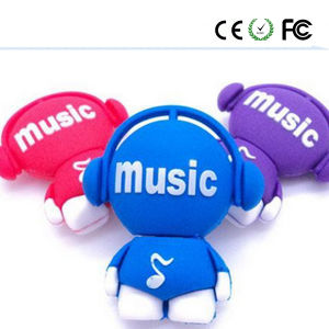 Music Man Lovely Cute USB Flash Drive (YYRGJ) pictures & photos