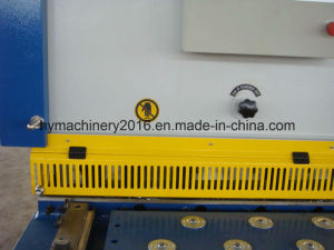 QC11y-16X3200 Nc Control Hydraulic Guillotine Shearing Machinery/cutting machinery pictures & photos