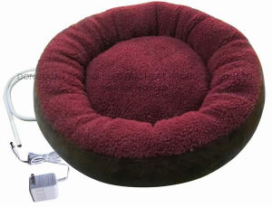 Sheep Skin Fabric Pet Electric Heated Bed with CE Certificate pictures & photos