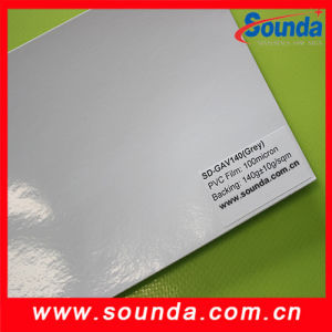 Hot Sale! ! ! Self Adhesive Vinyl 140g in Grey Glue pictures & photos