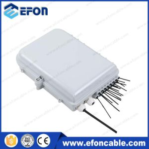 1X8 PLC Splitter 1X16 PLC Splitter FTTH Fiber Optic Terminal Enclosure Box (FDB-016D) pictures & photos