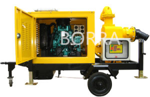 Mobile Diesel Engine Dewatering Water Pump pictures & photos