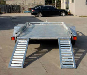 12X6 Galvanized Utility Tandem Car Trailer (SWT-CT126) pictures & photos