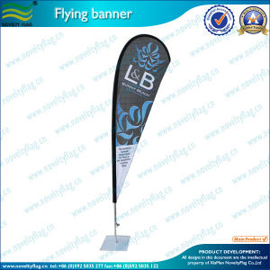 Teardrop Flag Pole Teardrop Banner (M-NF04F06004) pictures & photos