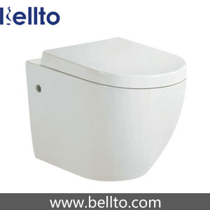 CE Approval Wall Hung Toilet with Concealed Cistern (318W) pictures & photos
