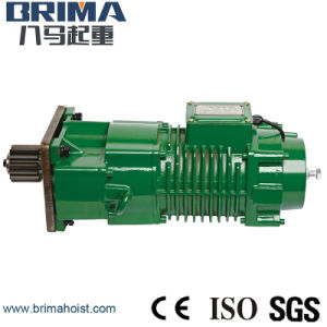 Brima Hot Good Quality Crane Geared & End Carriage Motor pictures & photos