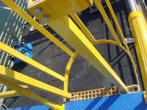 Fiberglass Ladder Systems, GRP/ FRP Ladder Systems pictures & photos