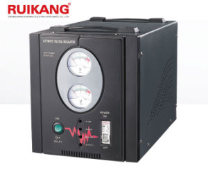 Single Phase Voltage Stabilizer 220V 5kw Meter/Digital Display for Home pictures & photos