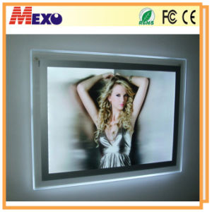 Acrylic Custom LED Light Christmas Picture Frame pictures & photos