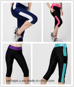 Fashion Women′s Fitness Clothes Elastic Slim Leggings pictures & photos