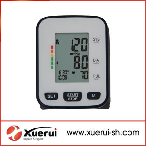 Wrist-Type Medical Automatic Blood Pressure Monitor pictures & photos