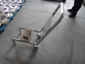 Stainless Steel Pump Carts for Winery Industry pictures & photos