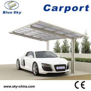 High Quality Metal Frame Polycarbonate and Aluminum Carport pictures & photos