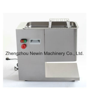 300kg/H Table Top Commercial Electric Meat Cutter Machine for Sale pictures & photos