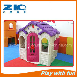 Commercial Indoor Playground Plastic Chololate Playhouse pictures & photos