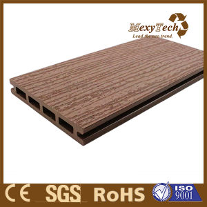 Guangzhou Balcony Decoration WPC Wood Decking Floor pictures & photos
