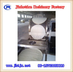 High Efficiency Gas Heated Spring Roll Pastry Machine pictures & photos