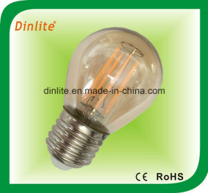 G45-2W-4W- Golden LED Light Bulb pictures & photos