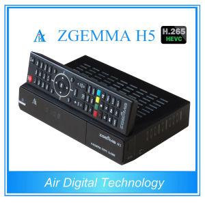 Combo H. 265 TV Receiver Box Zgemma H5 DVB S2 DVB T2 DVB C pictures & photos