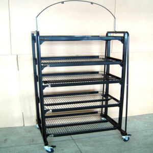 Flooring Display Wire Rack and Metal Stand with Hardware Rack pictures & photos