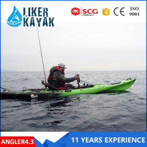 4.3metre Single Sit on Recreational Kayak LLDPE/HDPE pictures & photos