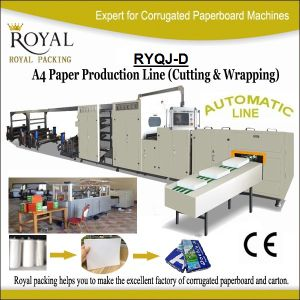 A4 Paper Cutting and Packaging Production Line pictures & photos