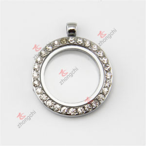 Wholesale 30mm Floating Crystal Charms Lockets Pendants Jewellry (FC71)
