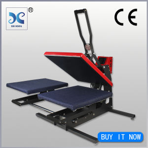 auto-open dye sublimation heat press transfer machine on sale pictures & photos