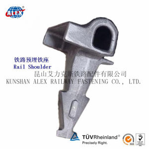 Sand Casting Railway Insert with High Tensil Material pictures & photos