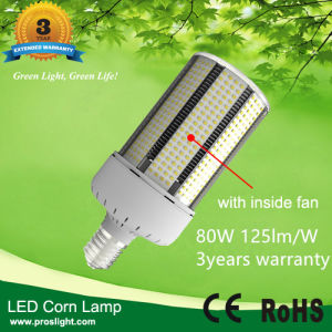 E40 80W LED Corn Light, E39 125lm/W LED Corn Lighting, 100-300V Corn LED Lamp 80W pictures & photos