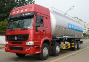 HOWO 8X4 336HP Heavy Duty Bulk Cement Tank Truck pictures & photos