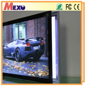 Wall Mounted LED Panel Picture Frame Aluminum Poster LED Frame pictures & photos