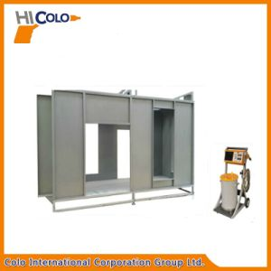 Aluminium Profile Powder Coating Booth with Recovery System pictures & photos