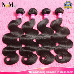 7A Grade Hair Virgin Peruvian Hair Weft (QB-PVRH-BW) pictures & photos