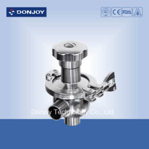 Sanitary Manual Radial Diaphragm Valve in with Handwheel pictures & photos