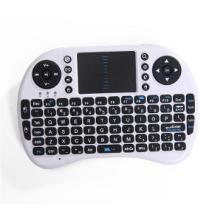 Mini Multi-Media Remote Control Air Mouse Wireless Laptop Computer Keyboard pictures & photos