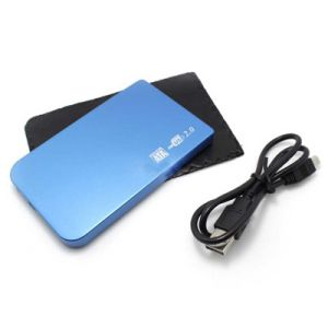 Slim USB2.0 SATA 2.5-Inch External HDD Enclosure Support 1tb pictures & photos
