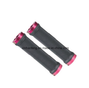 Durable Bicycle Grips for Mountain Bike Plastic and Rubber (HGP-016) pictures & photos