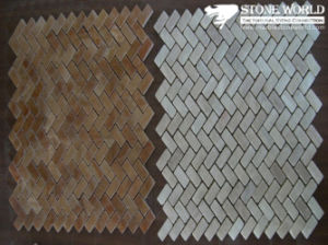 Stone/Marble Mosaic, Glass Mosaic, Crystal Glass Mosaic, Metal Mosaic pictures & photos