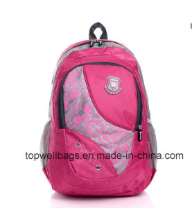 Polyester Student School Backpack Bag