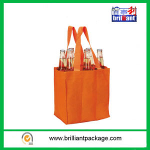 Six Wine Bottle Carrier Non-Woven Shopping Bag Can Custom Logo pictures & photos