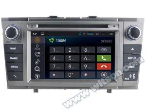 Witson Android 4.4 System Car DVD for Toyota Avensis 2008-2013 (A6585) pictures & photos