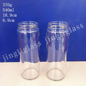 Long Slender Glass Jar / Food Glass Jar pictures & photos