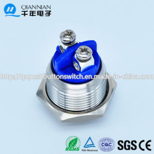 Qn16-A2 16mm Momentary Domed Head Screw Push Button Switch pictures & photos