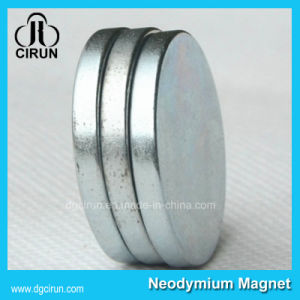 High Performance Sintered Permanent Disc Neo Magnet