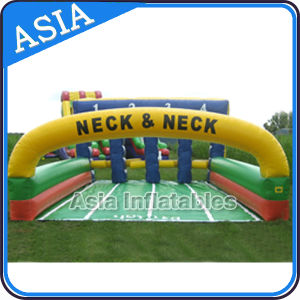 Fairground Inflatable Derby Horse Interactive Riding Sports pictures & photos