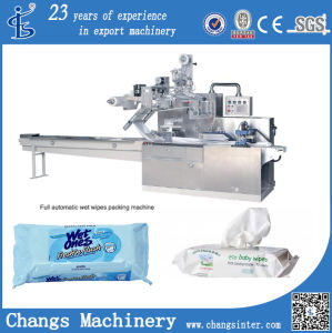 Dwb Series Custom Pillow Automatic Wet Wipes Tissues Packaging Machines Manufacture pictures & photos